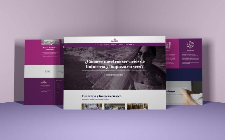 Diseño sitio Web y Marketing. GARBIKI