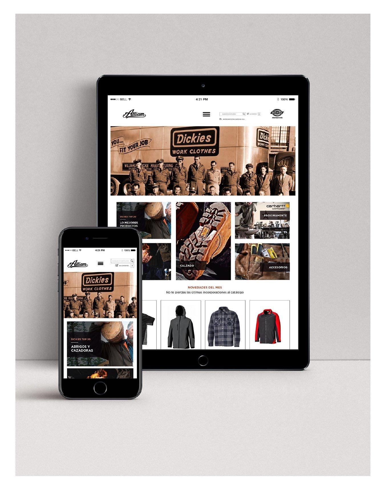 Diseño de tienda Online de ropa