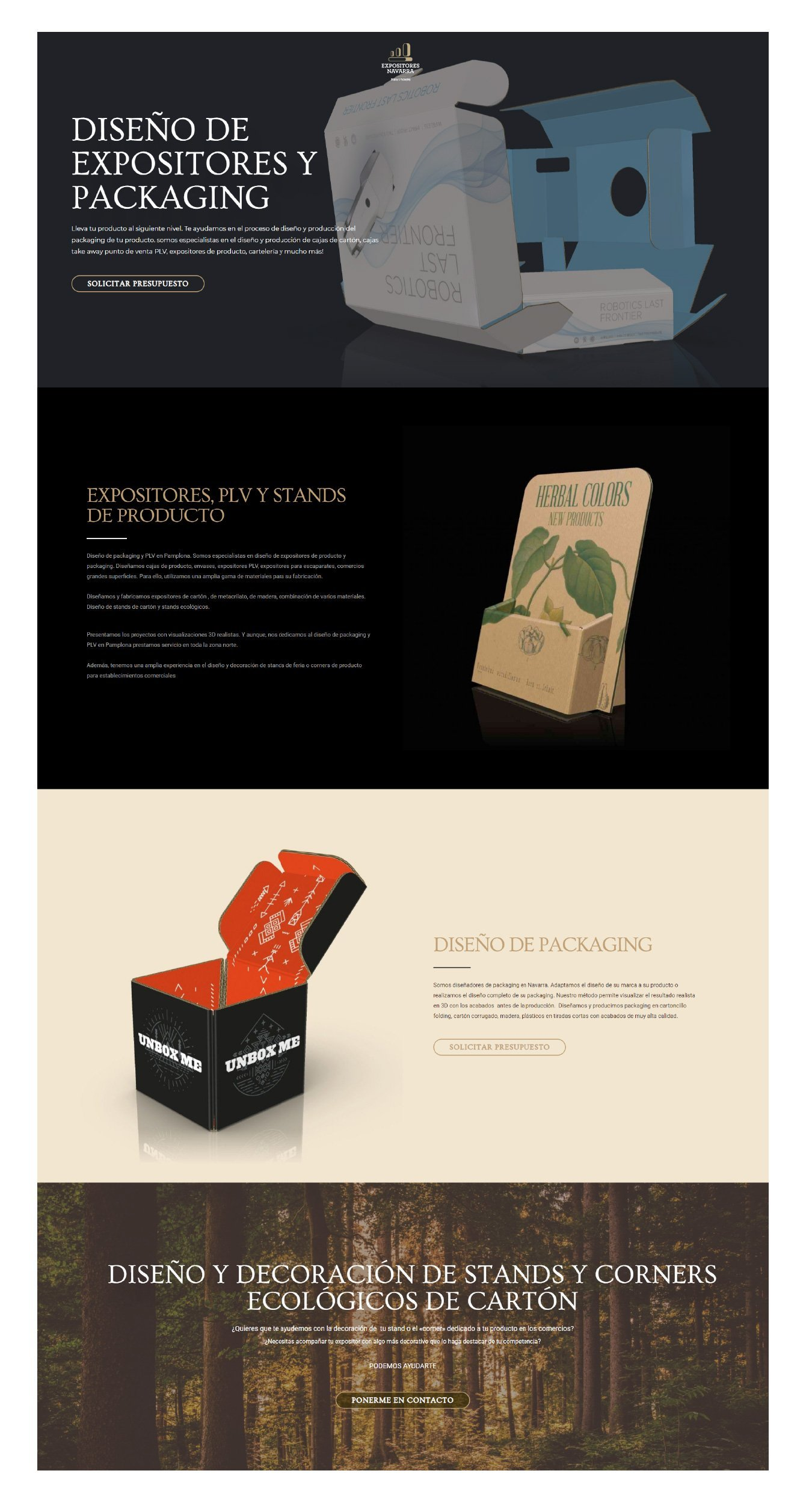 Diseño web económico